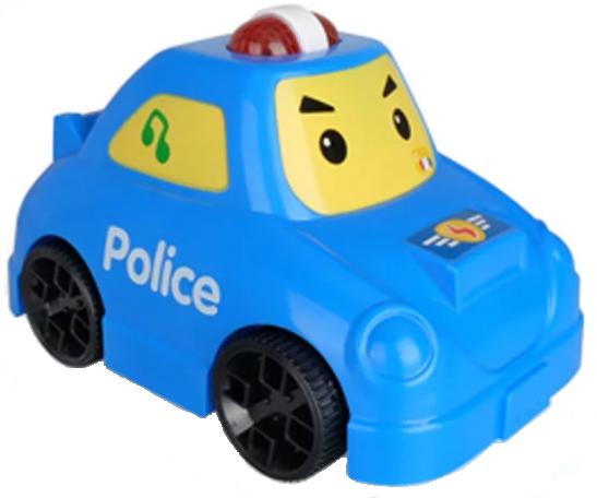 MZ MODEL: Policajné auto, hra a svieti pre deti 24M +
