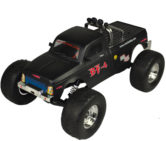 RC auto VRX Racing Monster Truck 1:10 4WD 2,4GHz RTR - R0246BLK