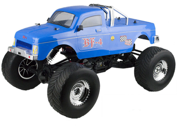 RC auto VRX Racing Monster Truck 1:10 4WD 2,4GHz RTR - R0246BLU