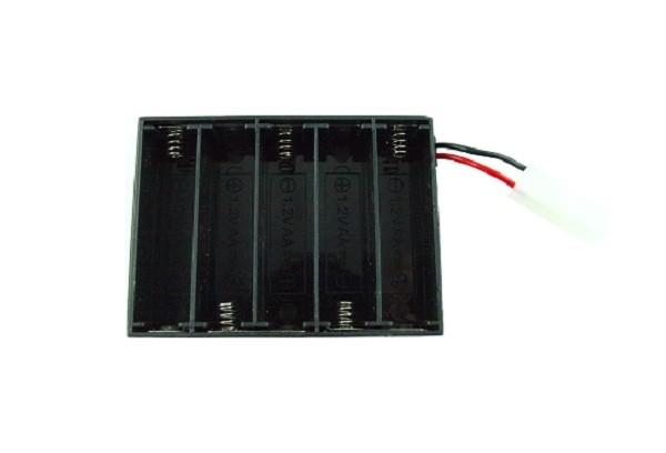 Držiak pre nabíjateľné batérie pre model Rastar 74100 Tamiya