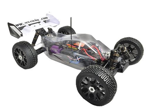 VRX Racing Bezfarebná kabína - R0228