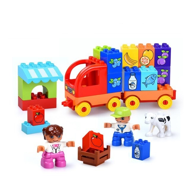 GOROCK:  Bloky Malý obchod - 37 prvkov