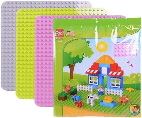 GOROCK: Podložka pre Lego Duplo bloky 38x38cm