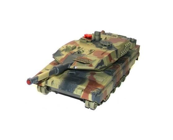 RC tank bojový UF Leopard RTR 1:18 2,4 GHz - zelený