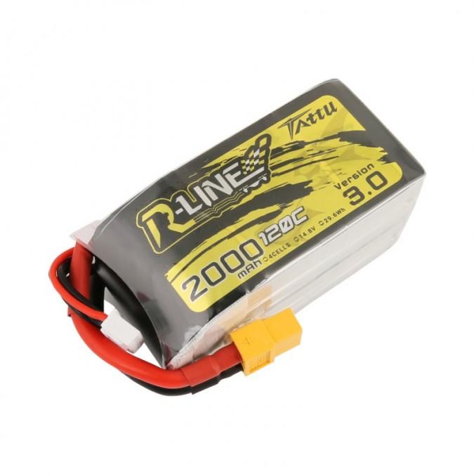 Batéria 2000mAh 14,8V 120C TATTU R-Line Gens Ace