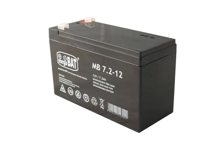 Batéria gelová bezúdržbová Pb 12V 7,2 Ah max. nabíjací prúd 1,8A Mega Bat
