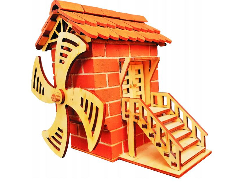ASLAN Veterný mlyn, stavebnica