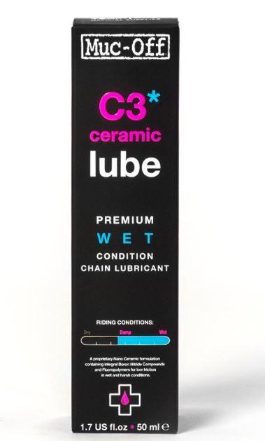 MUC-OFF C3 Ceramic Lube Premium wet