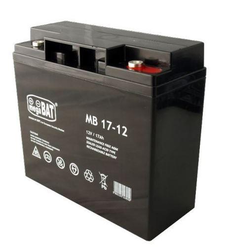MN POWER: Akumulátor gelovy Pb 12V 17Ah bezúdržbový