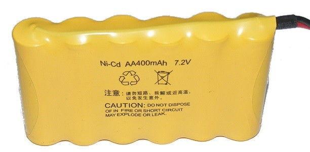 Batéria NiCd 400mAh 7.2V SM Flat