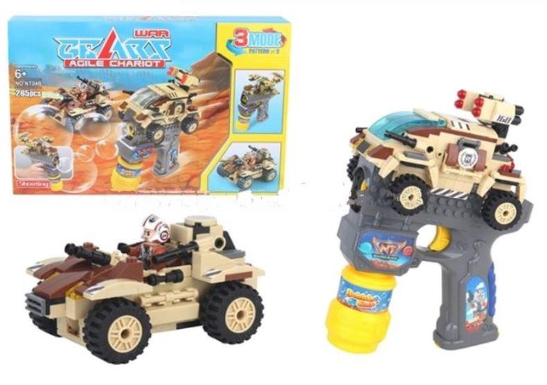 Stavebnica pre deti TPC Terénne vozidlo - 265 blokov