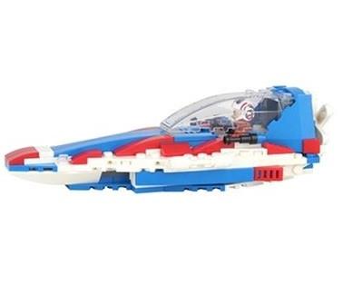 Stavebnica pre deti TPC aircraft -  261 blokov