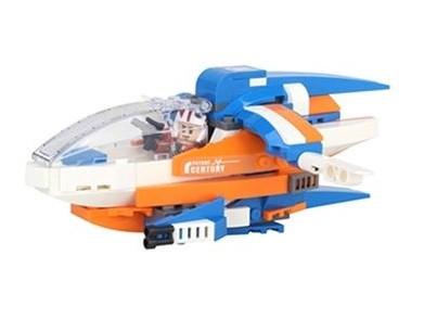 Stavebnica pre deti TPC Kozmická loď - 200 blokov