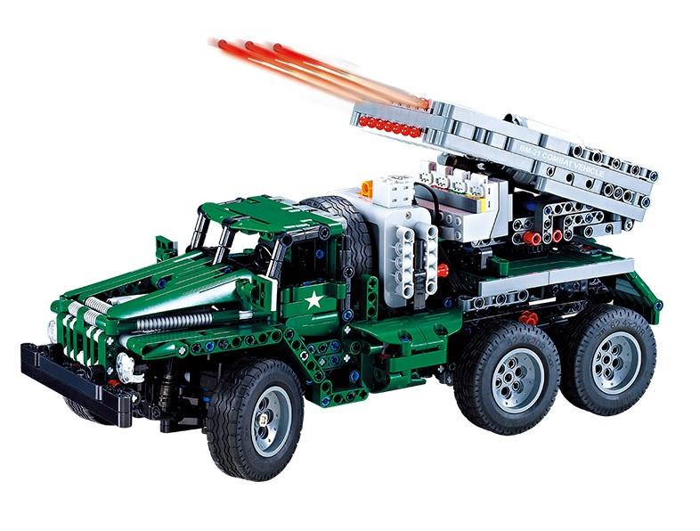 RC stavebnica na diaľkové ovládanie Double Eagle: Vojenské vozidlo DE/C61002W