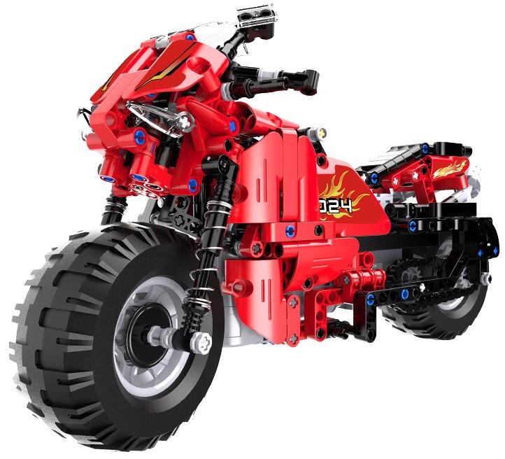 RC stavebnica na diaľkové ovládanie Double Eagle Motocykel C51024W