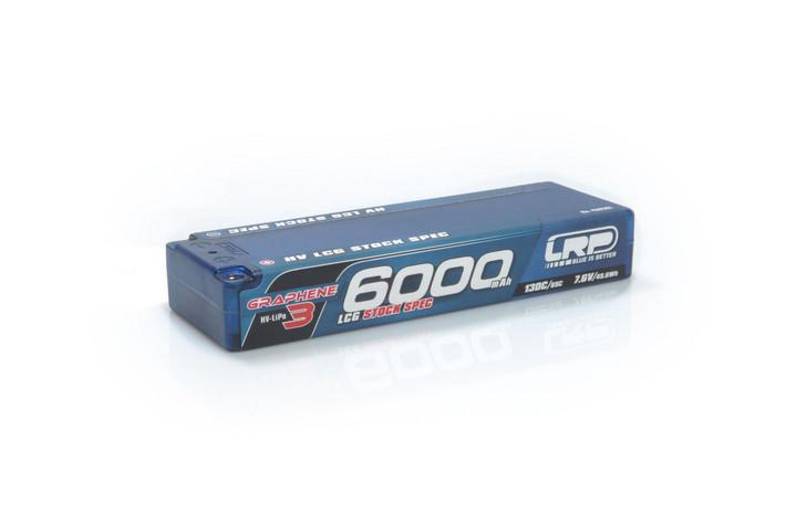 Batéria LRP LiPo 6000mAh 7.6V 130C/65C hardcase GRAPHENE-3