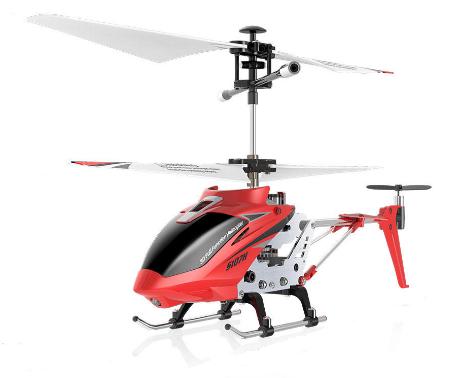 RC vrtuľník na ovládanie Syma S107H Phantom 2,4GHz - červený