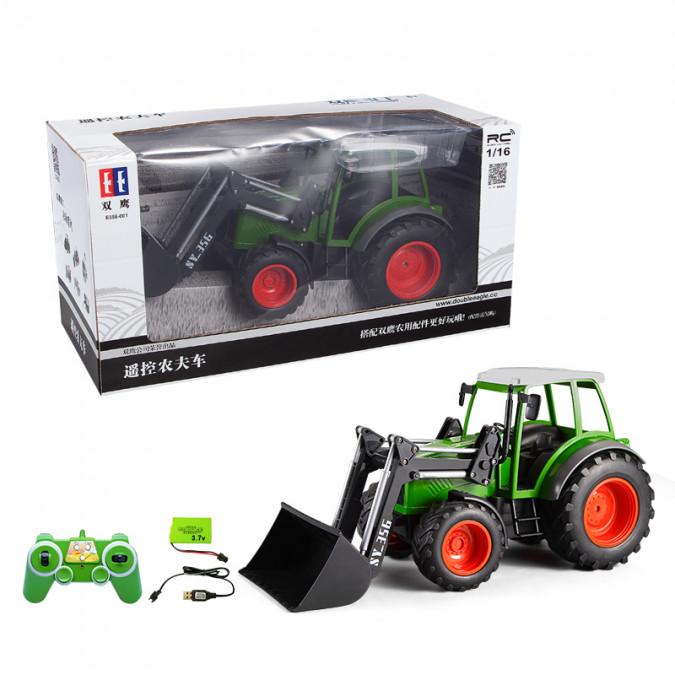 RC Traktor na diaľkové ovládanie s nakladačom 1:16 2,4 GHz
