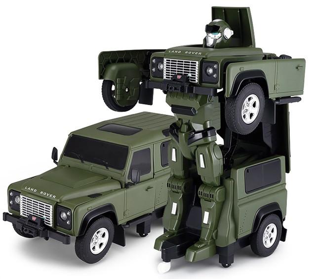 RC Transformer na ovládanie Land Rover 1:14 2.4GHz RTR - zelený