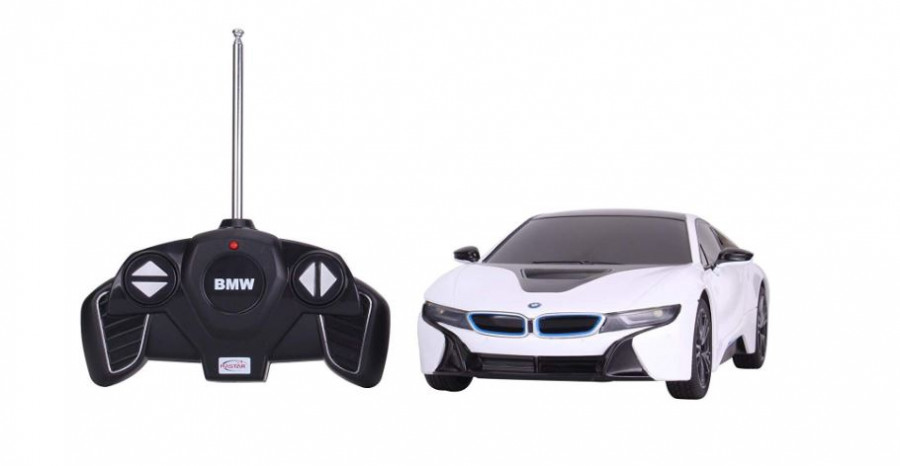 RC auto na diaľkové ovládanie Rastar BMW i8 1:18 RTR biele