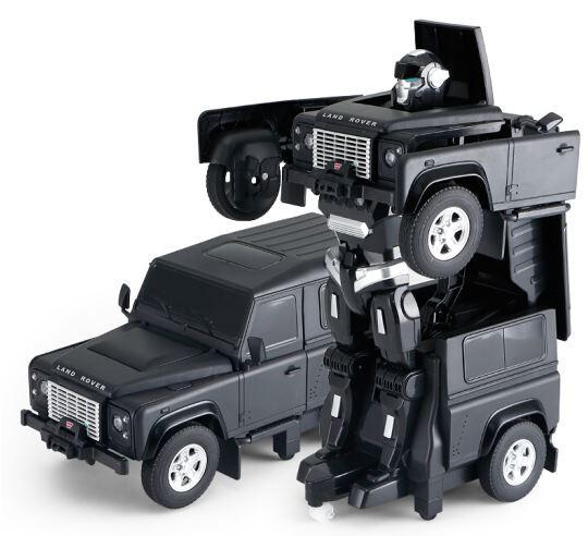 RC Transformer RASTAR na ovládanie Land Rover 1:14 2.4GHz RTR - čierny