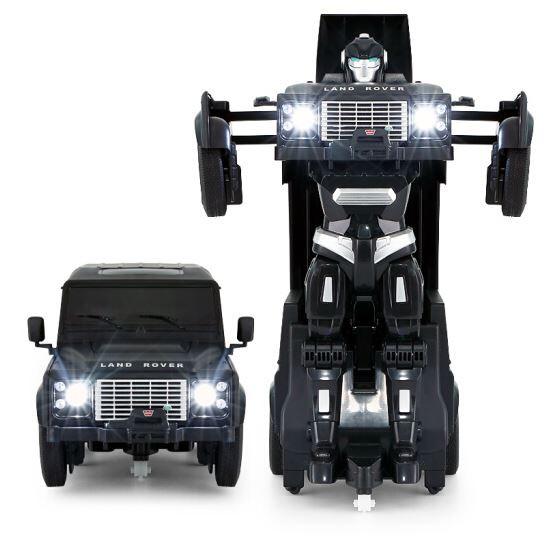 RC Transformer na ovládanie Land Rover 1:14 2.4GHz RTR - modrý