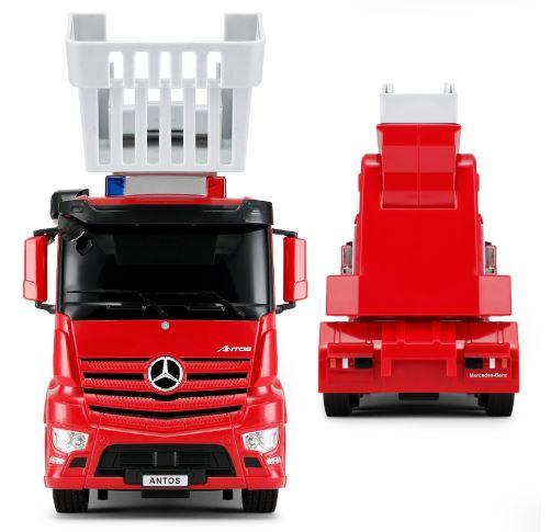 Rastar: Hasičské a policajné vozidlo na ovládanie Mercedes-Benz Antos 1:24 RTR