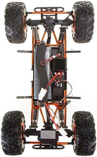 HSP Pangolin Crawler na ovládanie 2,4GHz 1:10 4x4 2,4GHz - modrý