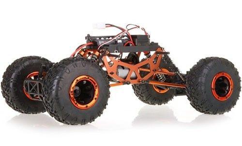 HSP Pangolin Crawler na ovládanie 2,4GHz 1:10 4x4 2,4GHz - Pomarančový