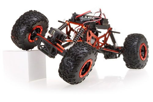 HSP Pangolin Crawler na ovládanie 2,4GHz 1:10 4x4 2,4GHz - Strieborný