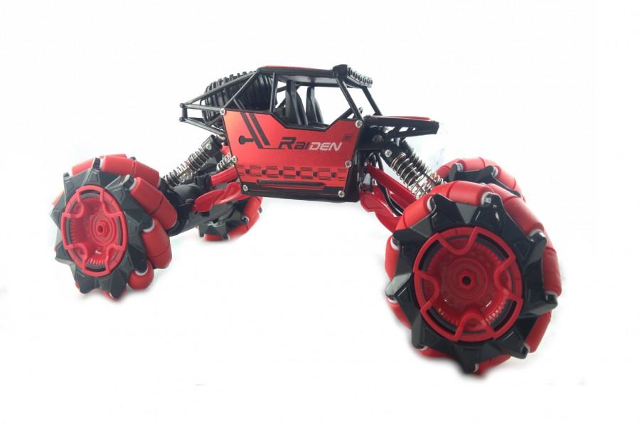 RC Auto TPC Drift Climber 4WD 1:18 2.4Ghz RTR - červený