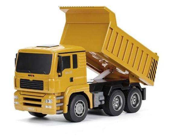 RC nákladné auto HUINATOYS Dump truck 1:18 6CH 2.4GHz