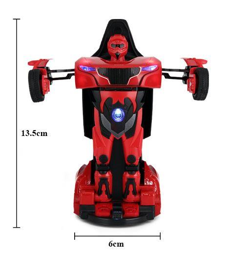 RC Mini transformátor Rastar Die Cast 1:32 RTR - červený