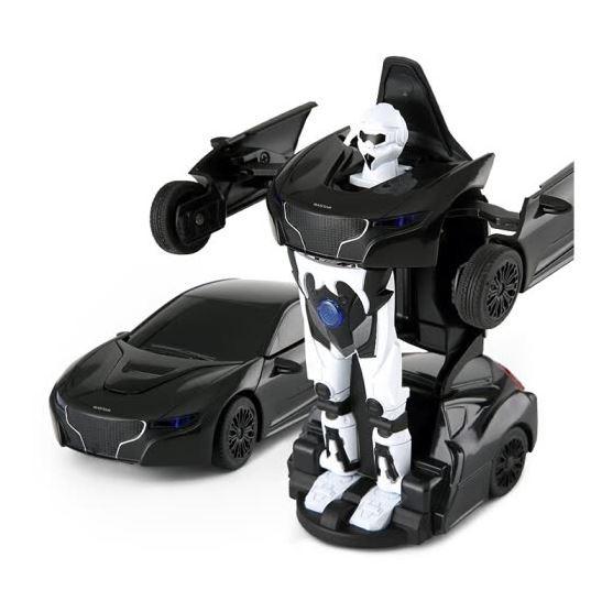RC Mini Transformer Rastar kovový 1:32 RTR - biely