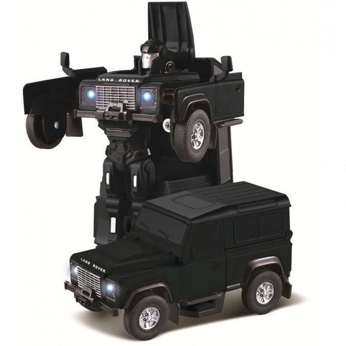 RC Land Rover Transformer RASTAR Die Cast 1:32 RTR - čierny