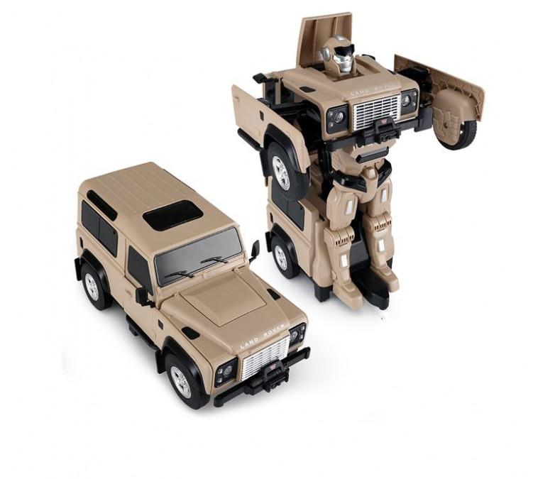 RC Transformer RASTAR na ovládanie Land Rover 1:14 2.4GHz RTR - žltý