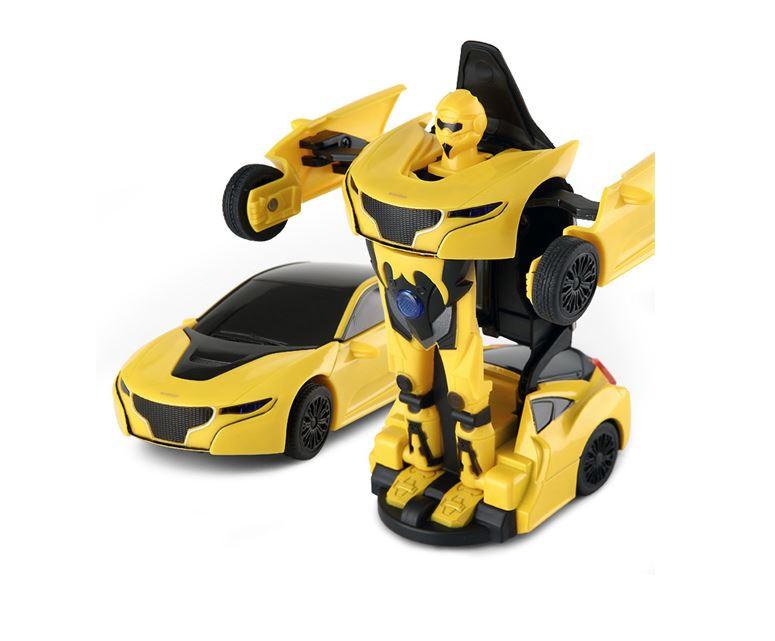 RC Mini Transformer Rastar kovový 1:32 RTR - žltý