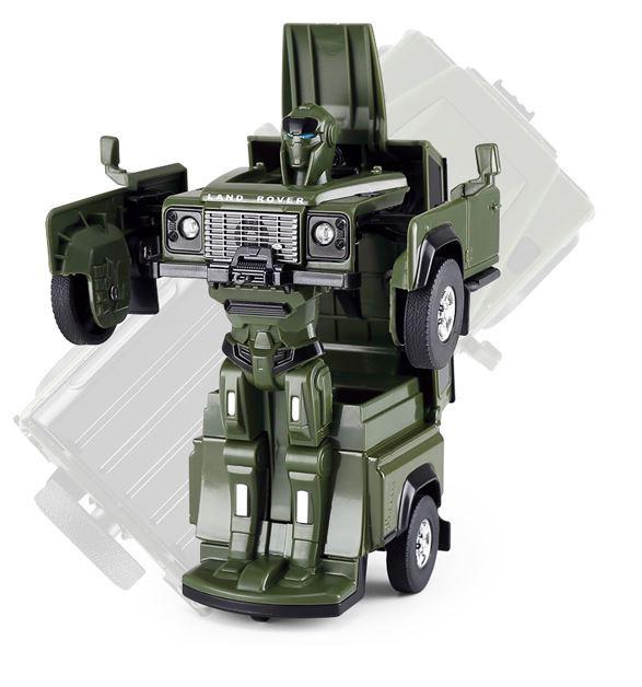 RC Land Rover Transformer RASTAR Die Cast 1:32 RTR - zelený
