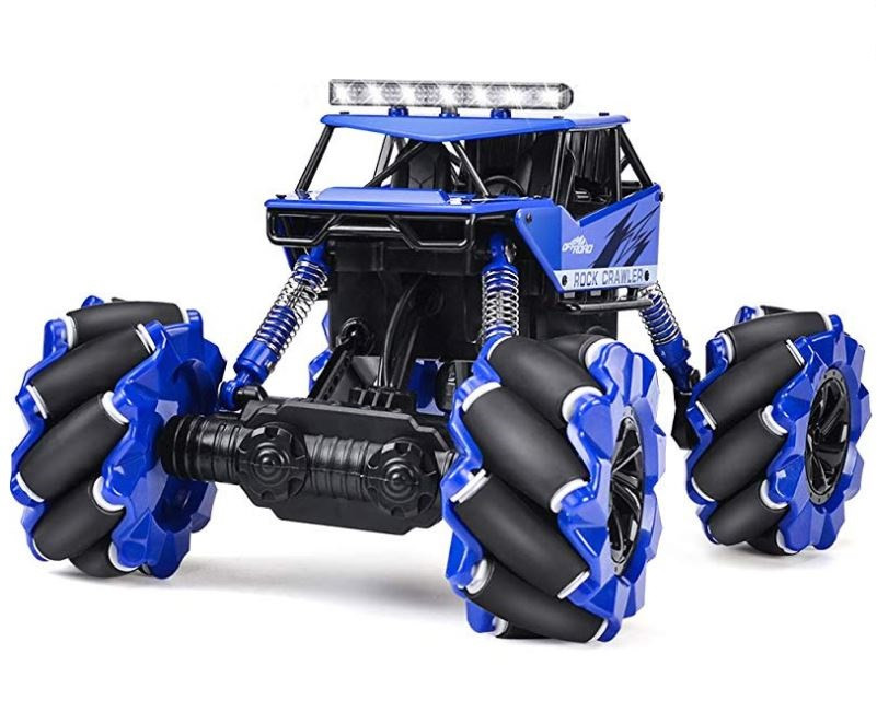 NQD: Drift Climber 4WD 1:16 2,4 GHz - modrá