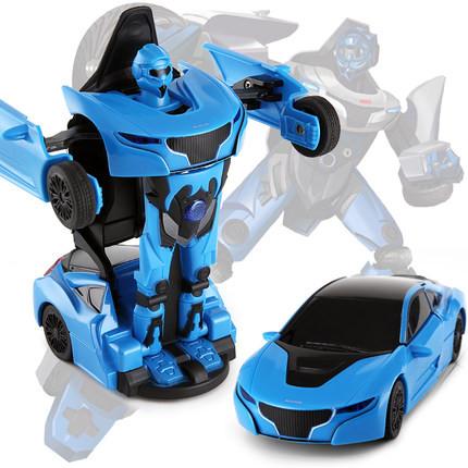 RC Mini Transformer Rastar kovový 1:32 RTR - modrý