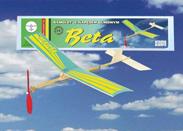 Hádzadlo na gumový pohon BETA