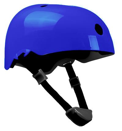 Cyklistická prilba Dan Plus - modrá