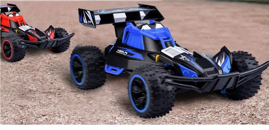 RC hračka Flash 1:16 2.4GHz 2WD RTR - modrá