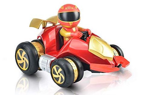 RC hračka NQD: automobil Stunt 1:18 2,4 GHz 757-083 - červená