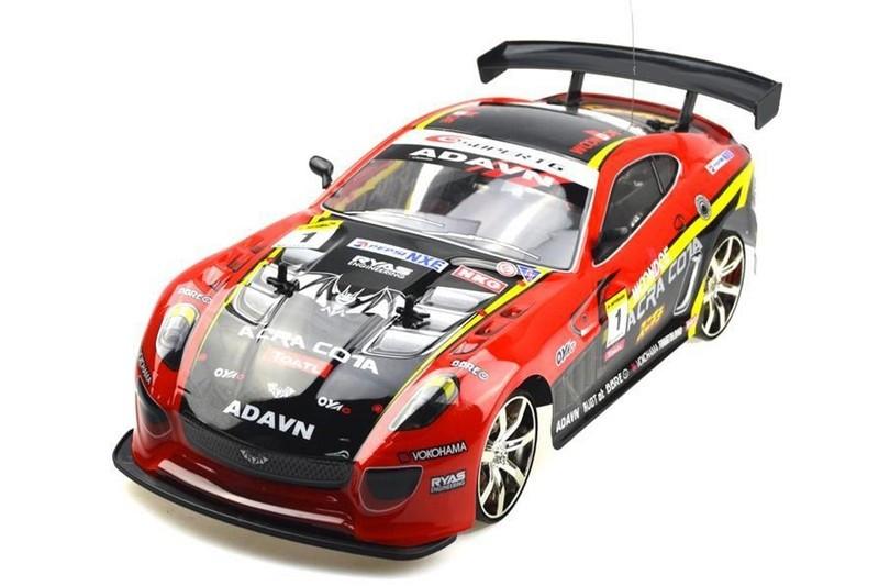 RC auto na ovládanie NQD 4WD24 Super Drift 1:10 4WD 2.4GHz  - Zelené