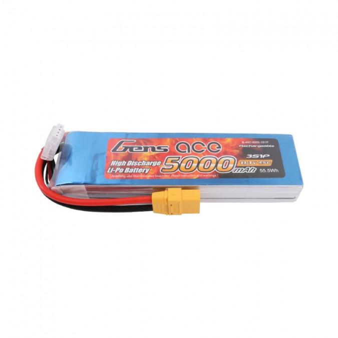 Batéria 5000mAh 11.1V 45C Gens Ace XT90