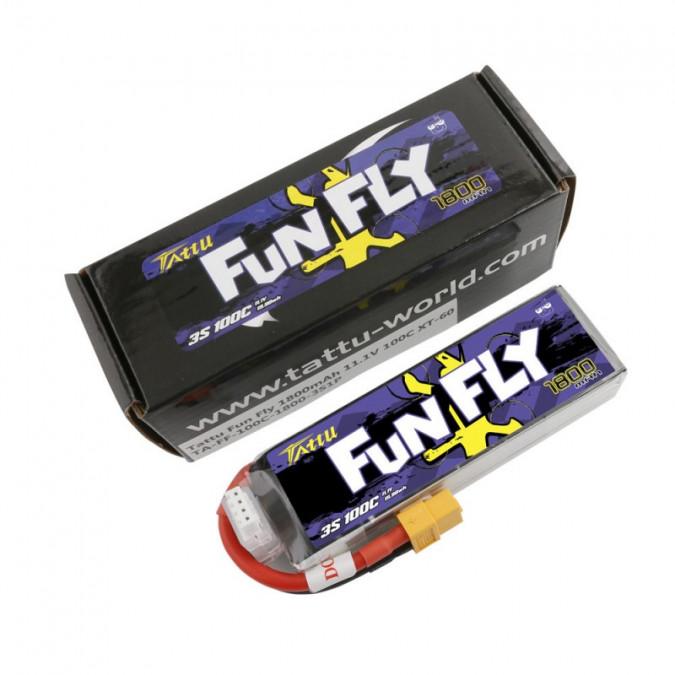 Batéria 1800mAh 11.1V 100C Funfly Gens Ace