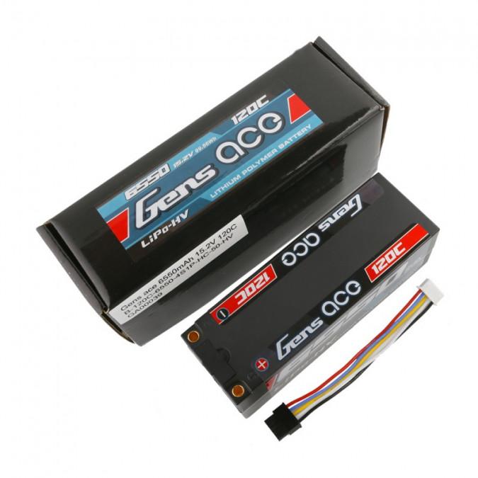 Batéria LIPO 6550mAh 15.2V 20C HardCase Gens Ace