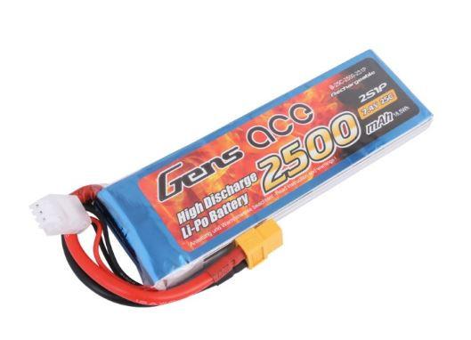 Akumulátor Gens Ace TATTU: 2500mAh 7.4V 25C XT60