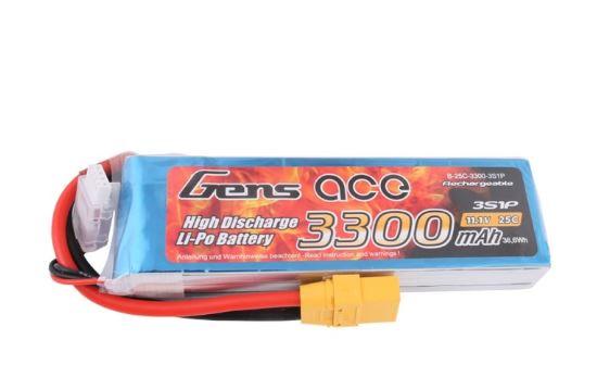 RC batéria Gens Ace TATTU: 3300mAh 11.1V 25C XT90